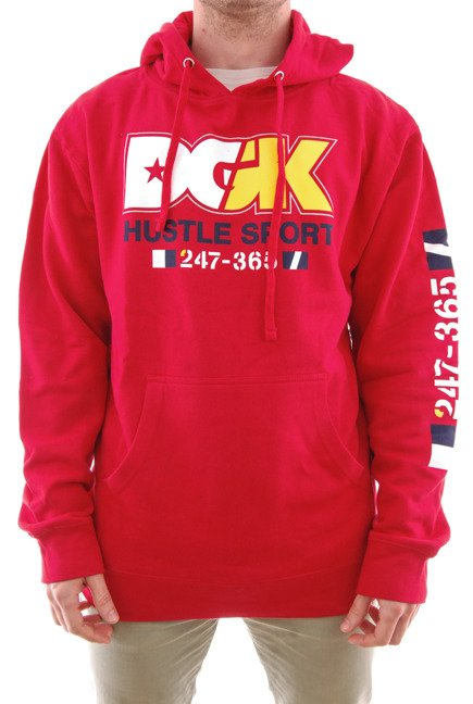 Bluza DGK - Ice Braeker Red