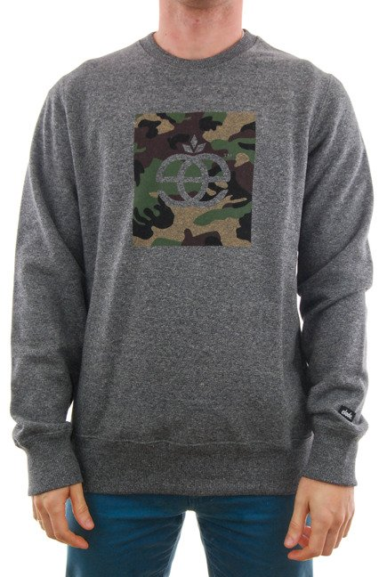 Bluza Elade - Crewneck Icon Camo Salt & Pepper