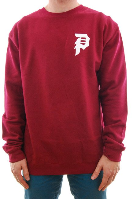 Bluza Primitive - Dirty P Crewneck Burgundy