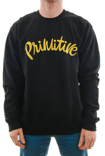 Bluza Primitive - Dusty Crewneck Black