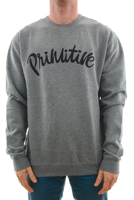 Bluza Primitive - Dusty Crewneck Grey