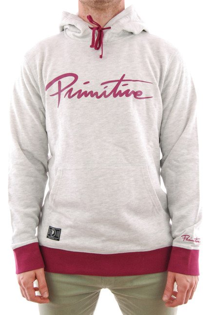 Bluza Primitive - Nuevo Ice Hood Ice Heather