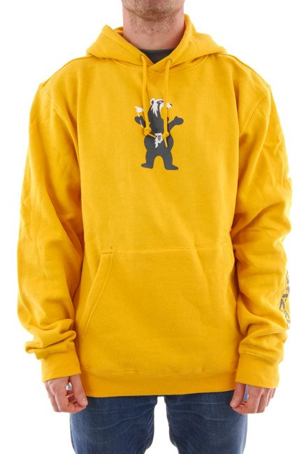 Bluza Primitive x Grizzly - Mascot Hood Fleece Yellow