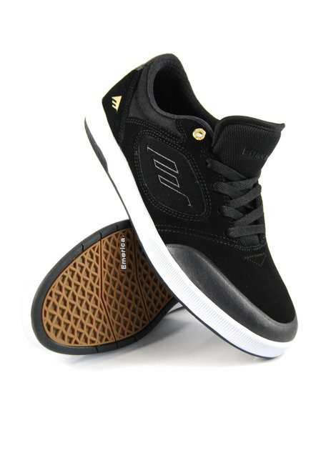 Buty Emerica - Dissent Black/White/Gold