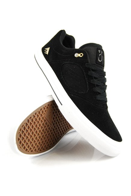 Buty Emerica - Reynolds G6 Vulc Black/White/Gold