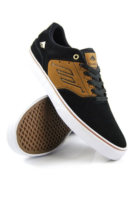 Buty Emerica - The Reynolds Low Vulc Black/Tan