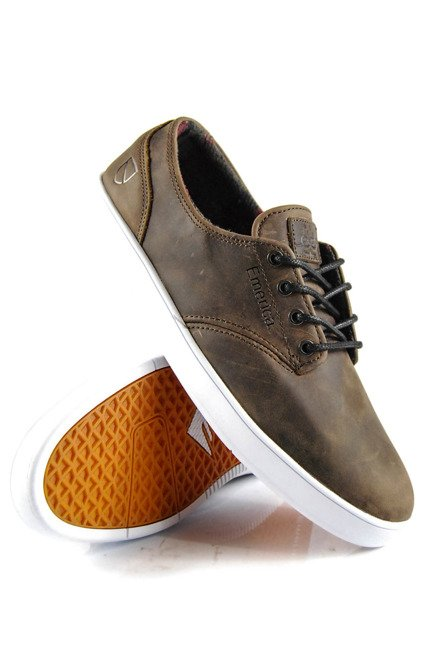 Buty Emerica  - The Romero Laced X Eswic Brown/White