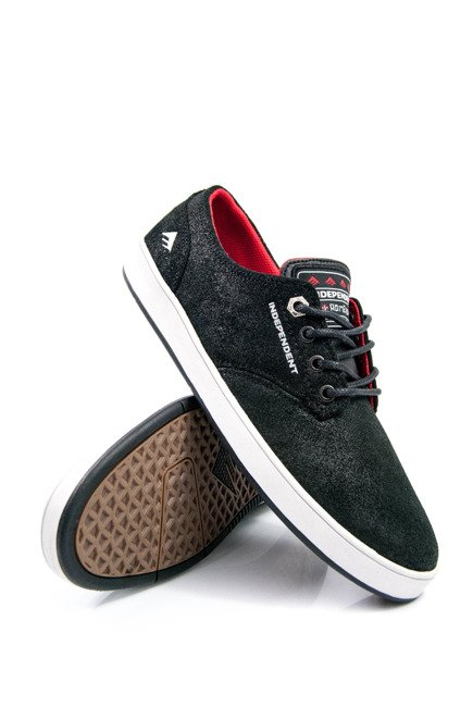 Buty Emerica  - The Romero Laced X Indy Black/Grey/Black