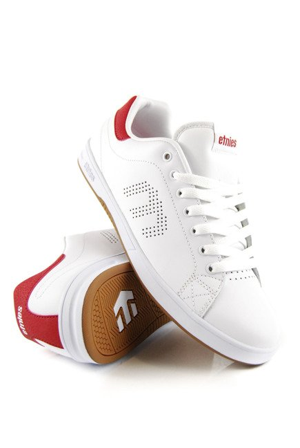 Buty Etnies - Callicut Ls White/Red