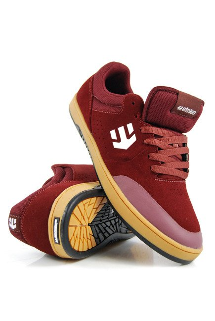 Buty Etnies - Marana x Michelin Burgundy/Tan/White
