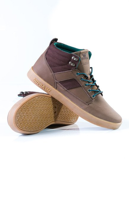 Buty Supra - Bandit Chocolate/Green-Gum