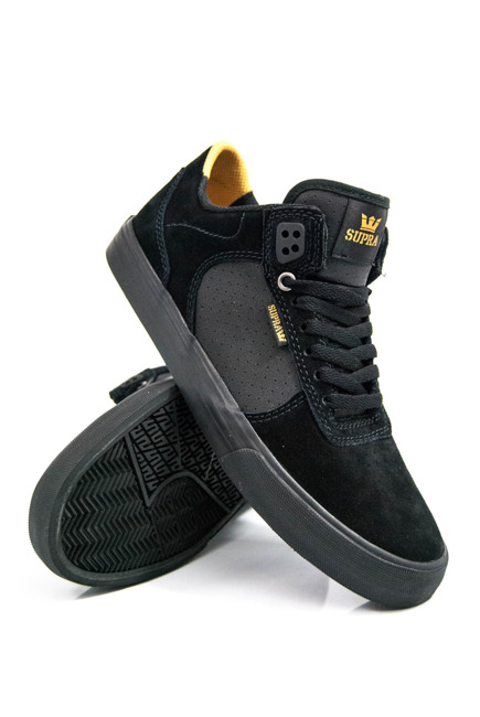 Buty Supra - Ellington Black/ Amber Gold/ Black