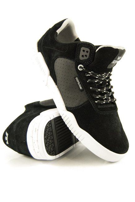 Buty Supra - Ellington Black/LT Grey-White