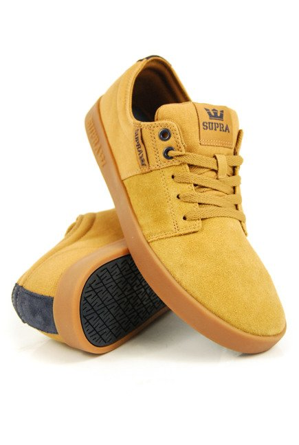 Buty Supra - Stacks II Tan/Navy-Gum