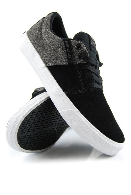 Buty Supra - Stacks Vulc II Black-White/Black