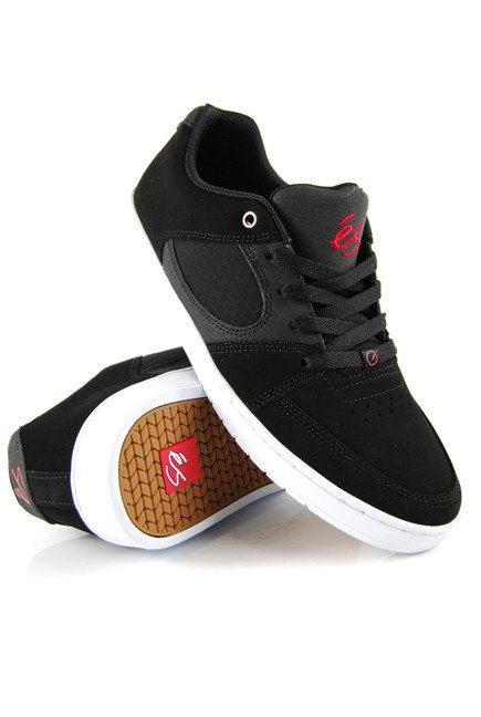 Buty éS  -  Accel Slim Black/White/Red