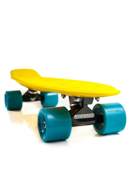 Cruiser Alliance 01 Yellow/Teal/Black