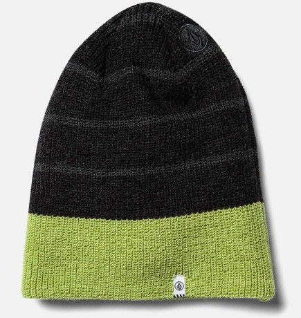 Czapka Volcom - Mod Stripe Beanie ELECTRIC GREEN
