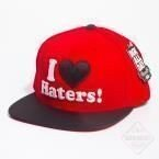 Czapka z daszkiem DGK - I'Love Haters Red/Black Snapback