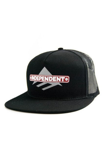 Czapka z daszkiem Emerica - Indy Trucker Hat Black LTD