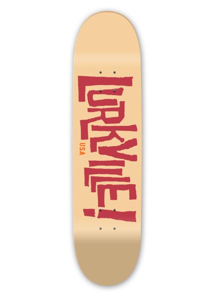 Deck Lurkville - Logo Larue Yellow