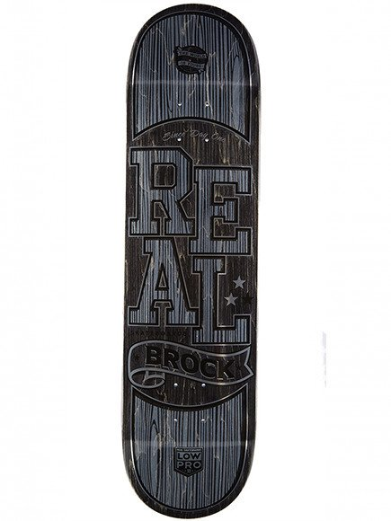 Deck Real - Brock Timber LowPro 2 LTD New Plus Size !