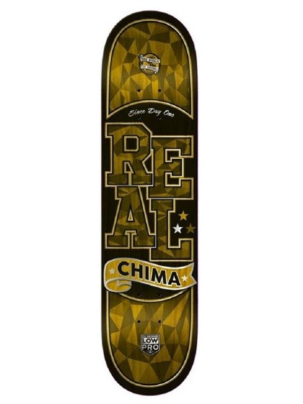 Deck Real - Dennis Chima Facet Low Pro II Orange
