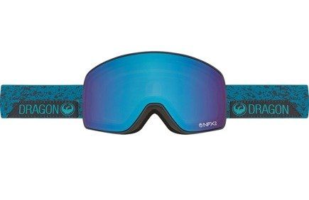 Gogle Dragon NFX2 - Stone Blue/Blue Steel + Yellow Red Ionized - Lens Free