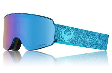 Gogle Dragon NFXS - Mill Lumalens Blue Ion + Lumalens Amber Lens Free
