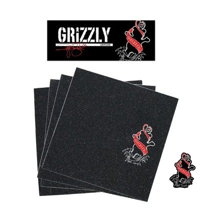 Griptape - Grizzly x  Sheckler Inked Griptape