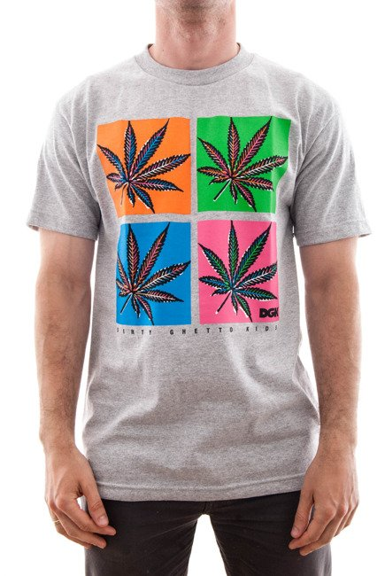Koszulka DGK -  POP S/S T-Shirt  Ath Heather