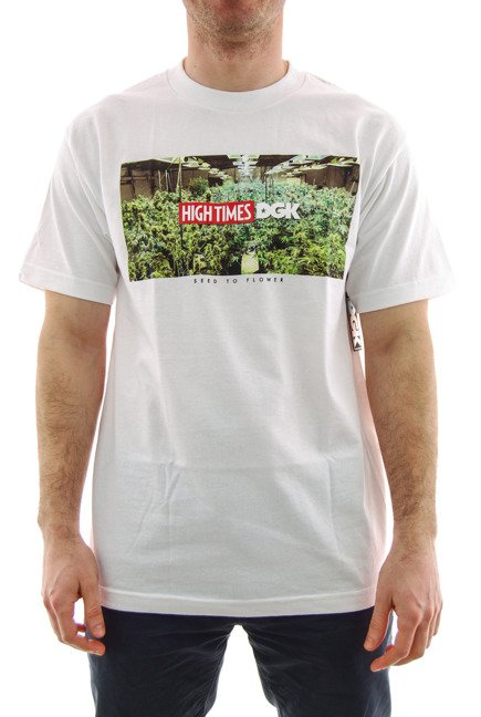 Koszulka DGK x High Times - Grow Room white