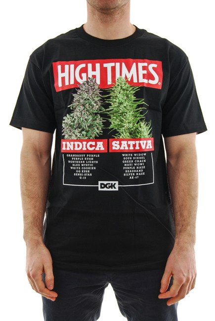 Koszulka DGK x High Times - Options black