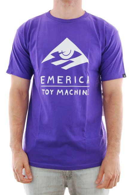 Koszulka Emerica x Toy Machine - Toy Purple