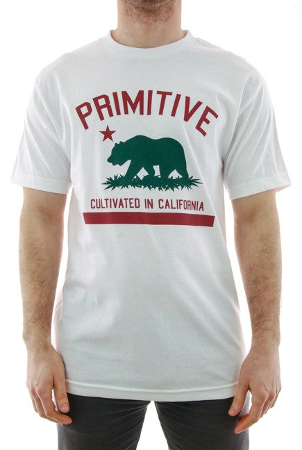 Koszulka Primitive - Cultivated Solid White