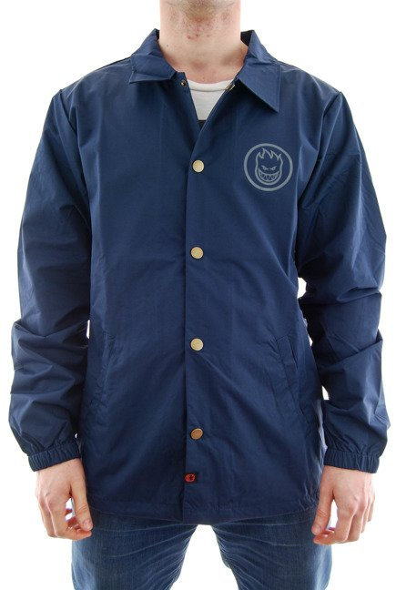 Kurtka Spitfire - Classic Swirl Waterproof Coaches Jacket Navy