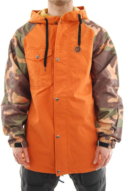 Kurtka snowboardowa ThirtyTwo - Knox Burnt Orange