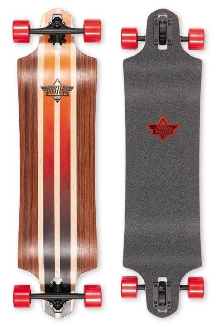 "Longboard Dusters California - Burn 38"" Rosewood"