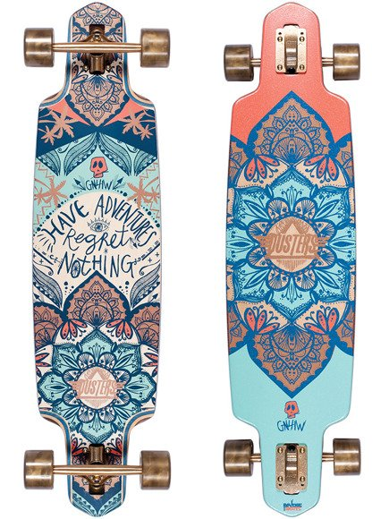 "Longboard Dusters California - Hermosa  38""  Multi"