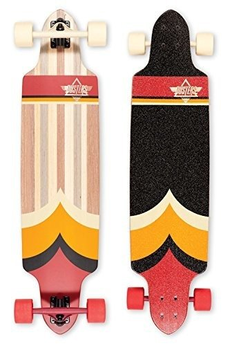 "Longboard Dusters California - Totem 38.5"" Red/Org"