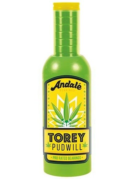 Łożyska Andale Bearings -  Torey Pudwill Green Hot Sauce Pro Rated Wax & Bearings