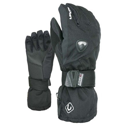 Rękawice snowboardowe Level - Fly Black Biomex