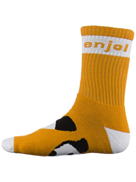 Skarpety Enjoi - Panda Feet Crew Yellow