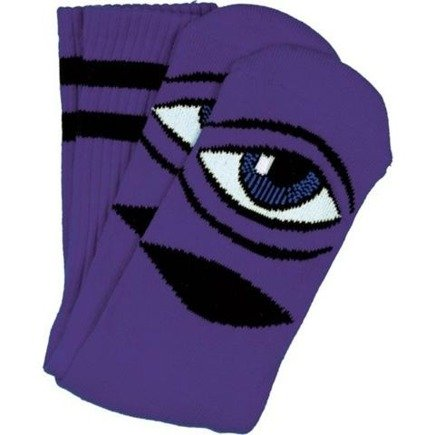 Skarpety Toy Machine -  Sect Eye III Purple Crew