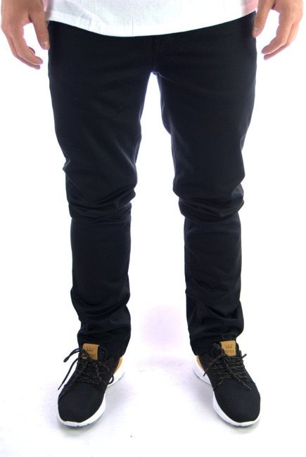 Spodnie Kr3w - K Slim 5 Pocket  Black