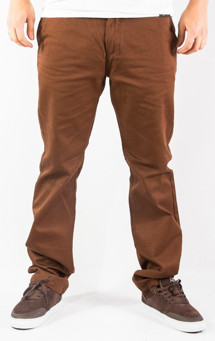 Spodnie Organika - Grow Chino Brown