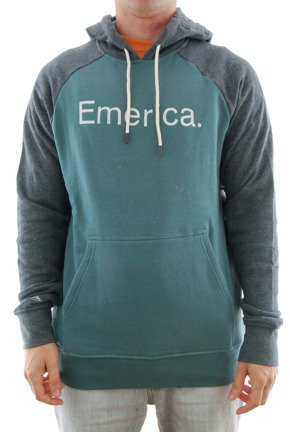 Bluza Emerica - Emerica Purity Hood Grey/Green
