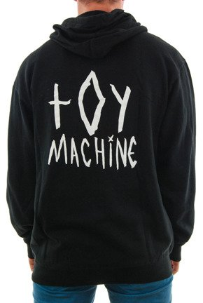 Bluza Toy Machine - Sketchy Monster Zip Black