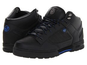 Buty DVS - Militia Blk Leather