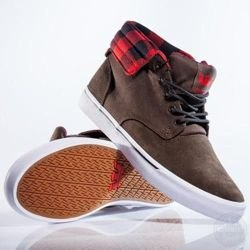 Buty Supra - Passion Brown/Checker-White